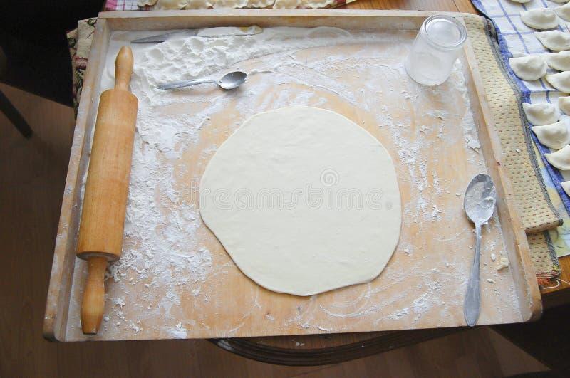 Pasta de Pierogi foto de archivo
