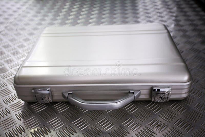 Pasta de prata do metal imagens de stock