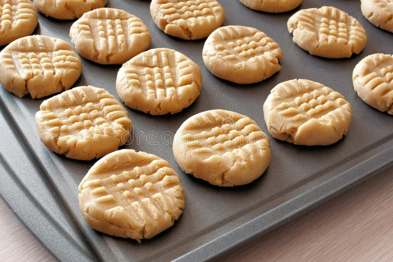 Pasta del biscotto immagine stock libera da diritti
