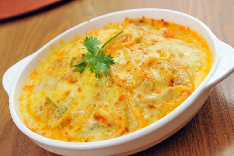 Pasta del formaggio fotografie stock libere da diritti