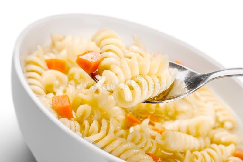 Download Pasta Deliziosa Con Le Verdure Sul Piatto Bianco Sopra Fotografia Stock - Immagine di gourmet, ciotola: 117981334