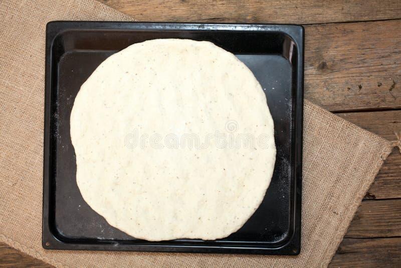 Pasta della pizza fotografia stock libera da diritti