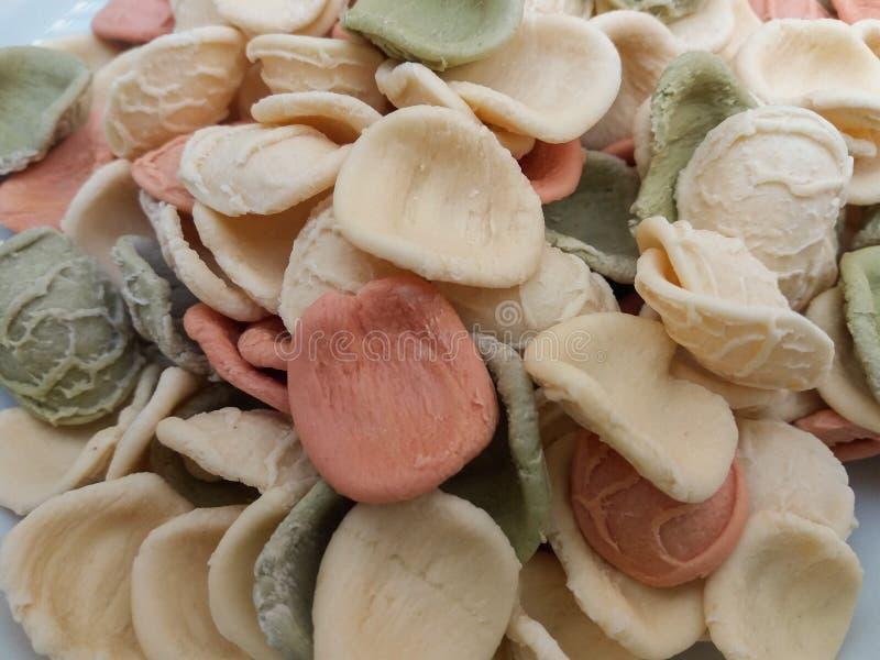 Pasta di Orecchiette dall'Italia immagini stock libere da diritti