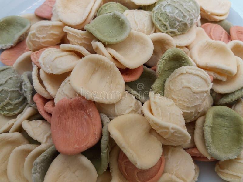 Pasta di Orecchiette dall'Italia fotografie stock