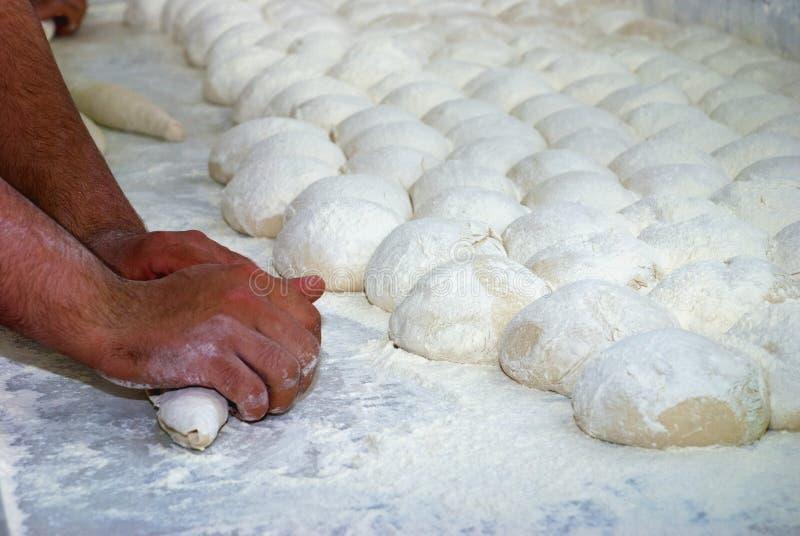 Pasta di pane immagine stock