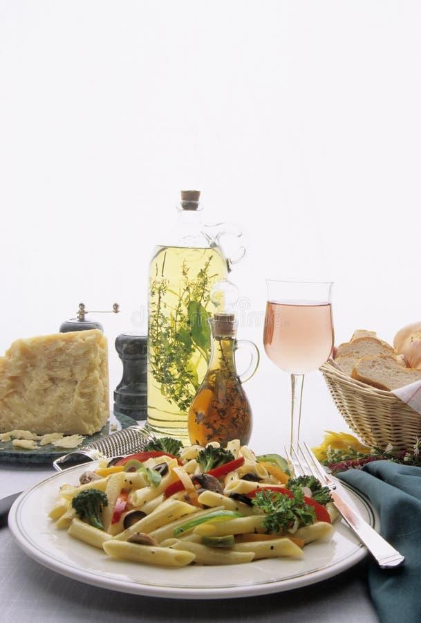 Download Pasta Dinner Plate stock image. Image of basket, dish - 3897463