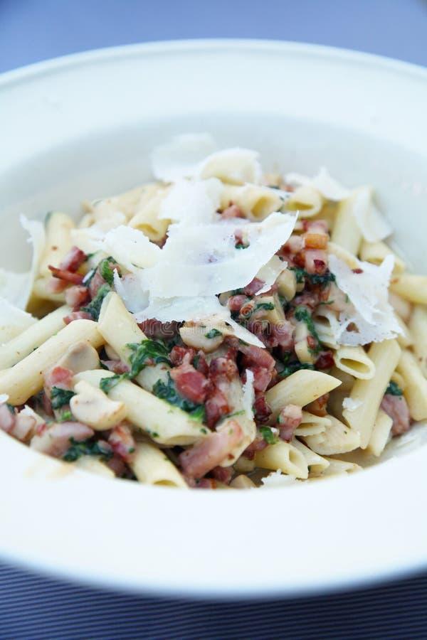 Pasta dish stock photography