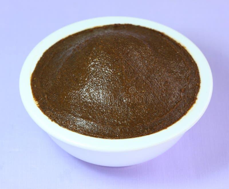 Pasta do camarão ou Gkabi, alimento tailandês do ingrediente comum fotos de stock royalty free