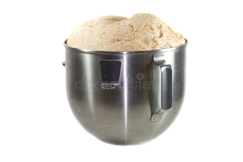 Pasta en un tazón de fuente. fotografía de archivo libre de regalías