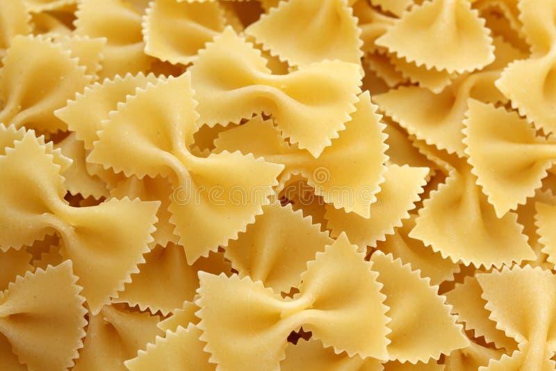 Pasta Farfalle royalty free stock photo
