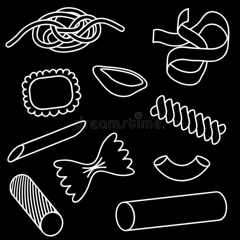 Download Pasta Icon Set Stock Photography - Image: 17835372