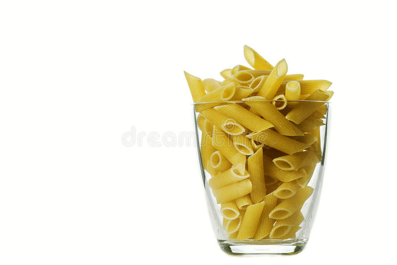 Download Pasta isolated on white stock photo. Image of isolated - 83700756