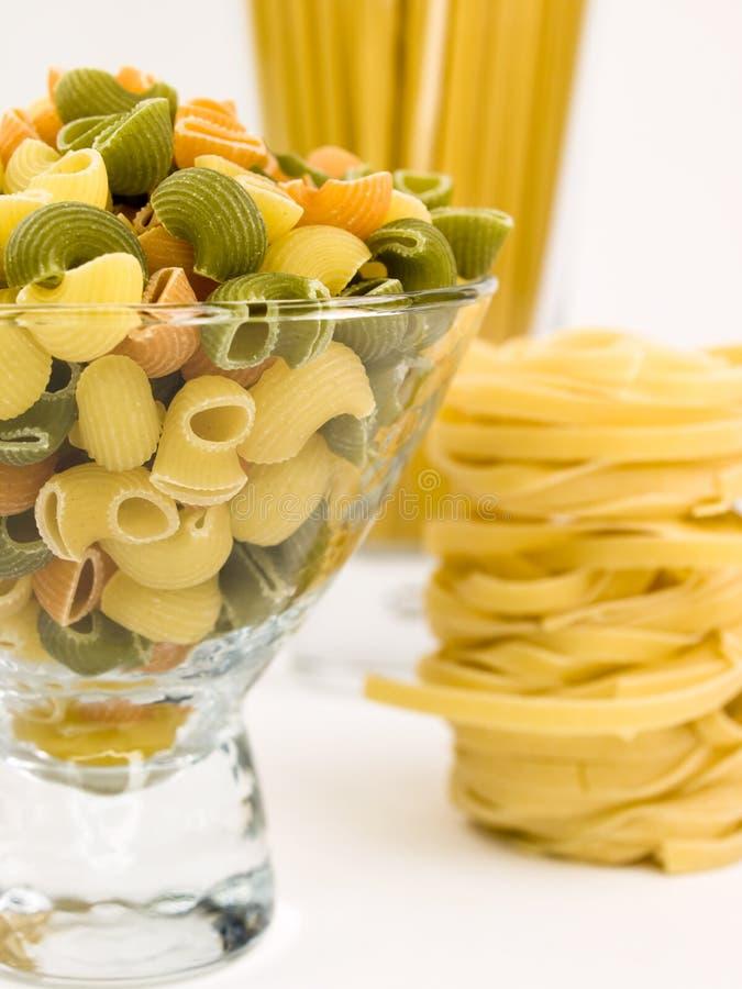 Pasta italiana. fotografia stock