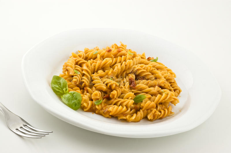 Pasta italiana fresca fotografia stock