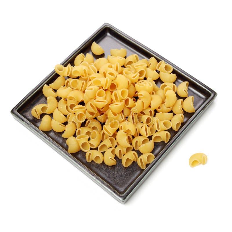 Pasta italiana Gomiti Rigati immagine stock
