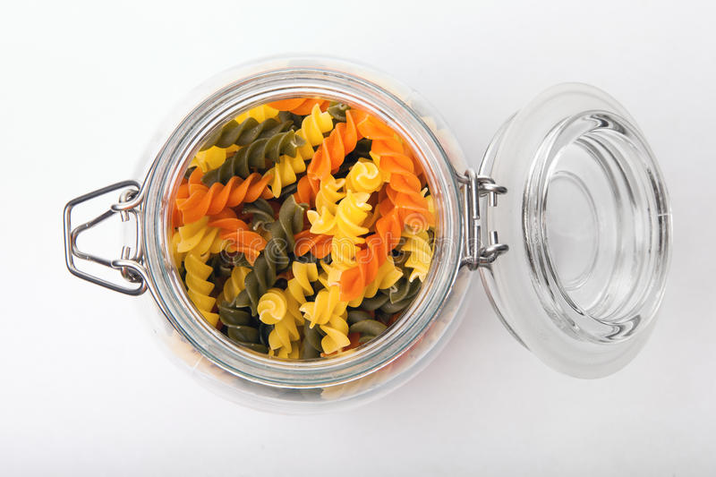 Download Pasta in a jar stock image. Image of national, cook, macaroni - 43512853