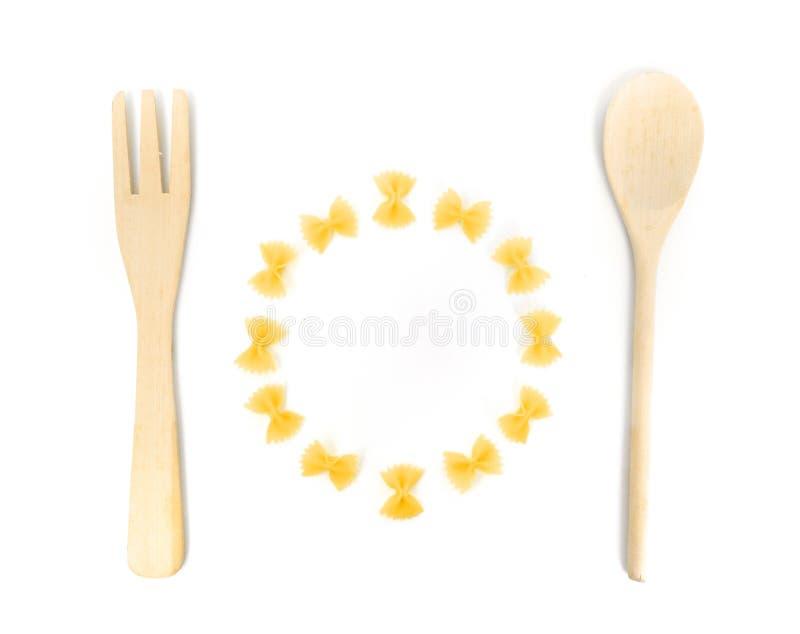 Pasta meal fun conceptual image stock photography