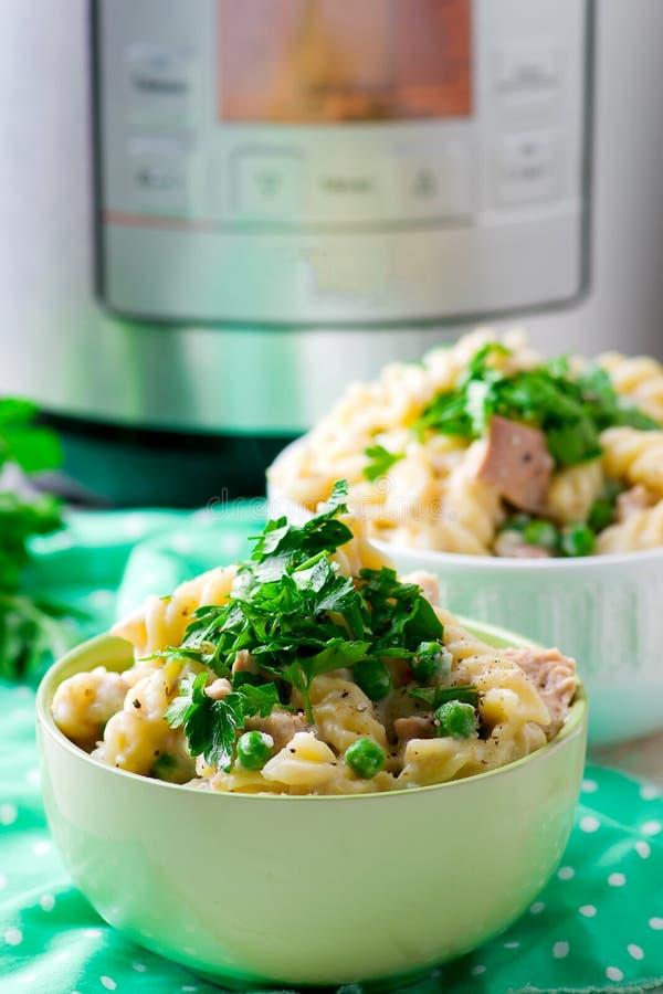 tonfisk och pasta