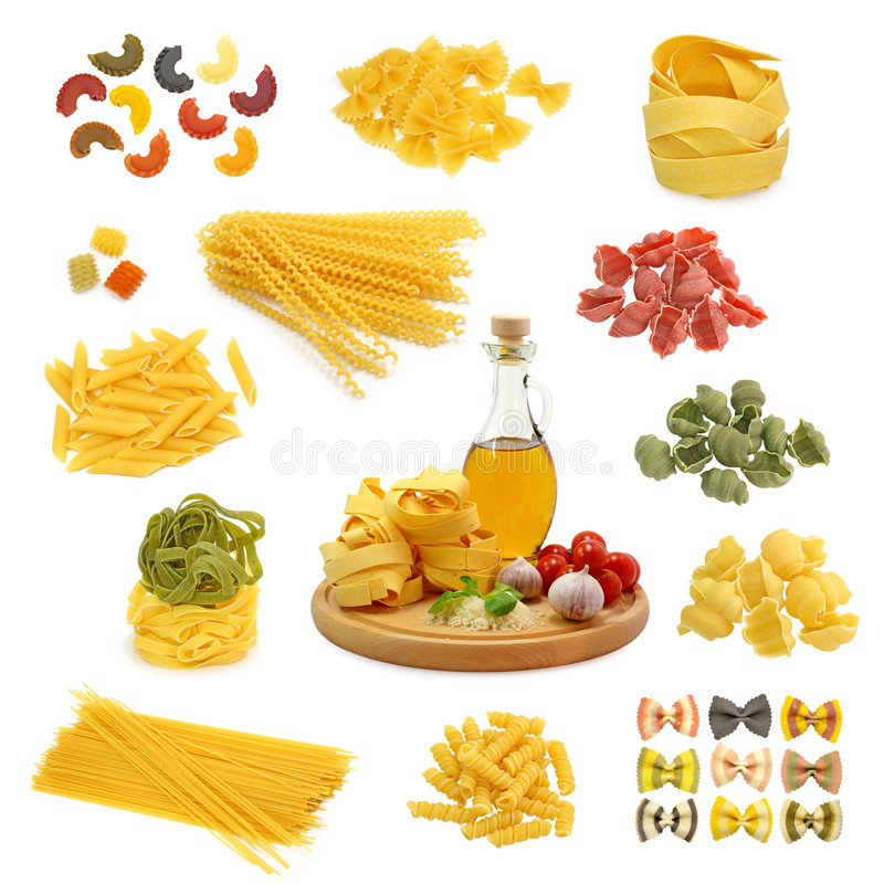 Free Pasta Mix Stock Images - 4841784