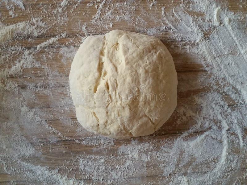 Pasta para cocer, visión superior fotos de archivo