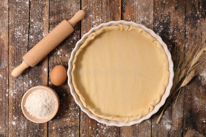 Pasta para la torta o la tarta imágenes de archivo libres de regalías