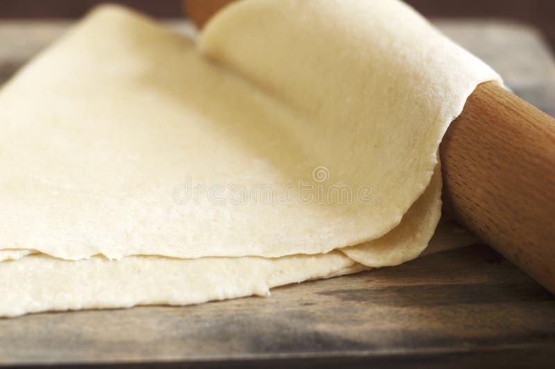 Pasta para los tallarines fotografía de archivo