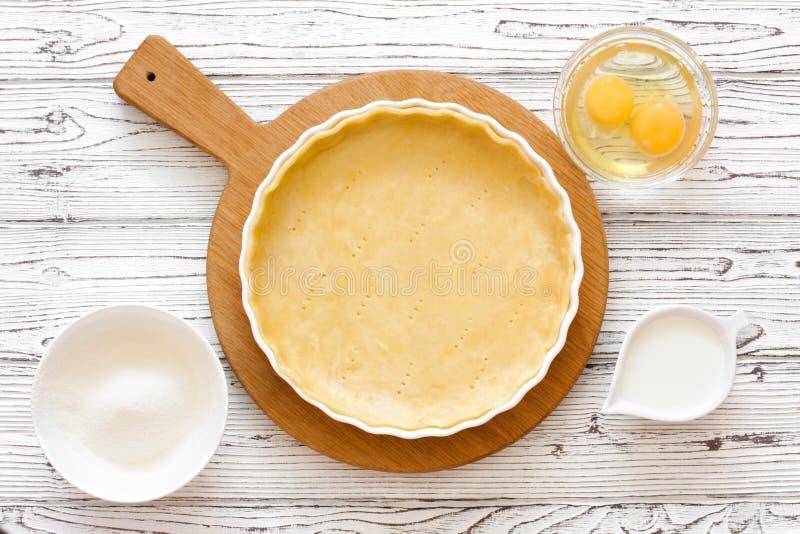 Pasta per la crostata bollente immagine stock libera da diritti