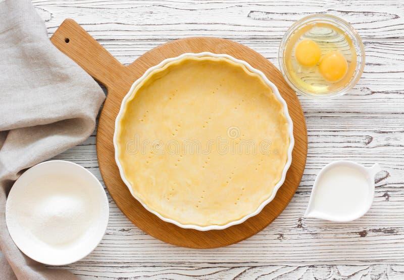 Pasta per la crostata bollente fotografia stock libera da diritti