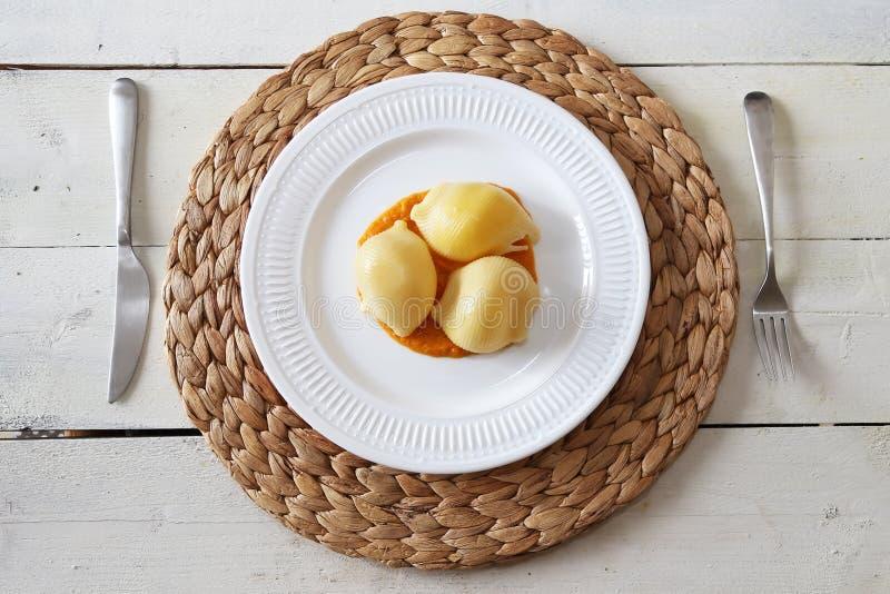 Pasta plate photo royalty free stock photo