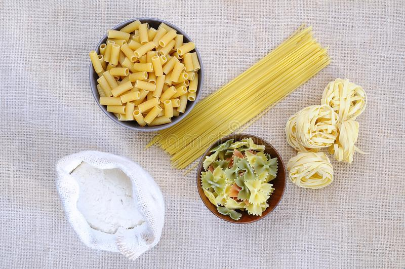 Download Pasta. stock image. Image of making, healthy, homemade - 37582913