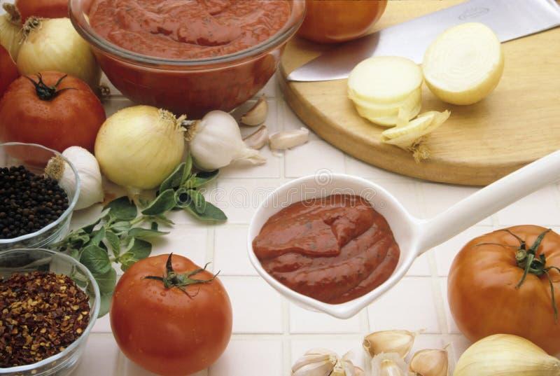 Pasta Sauce royalty free stock image