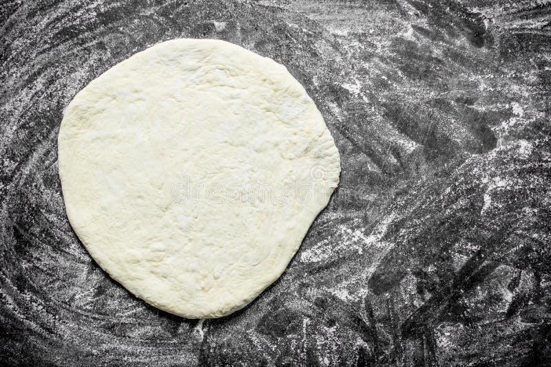 Pasta srotolata della pizza fotografia stock