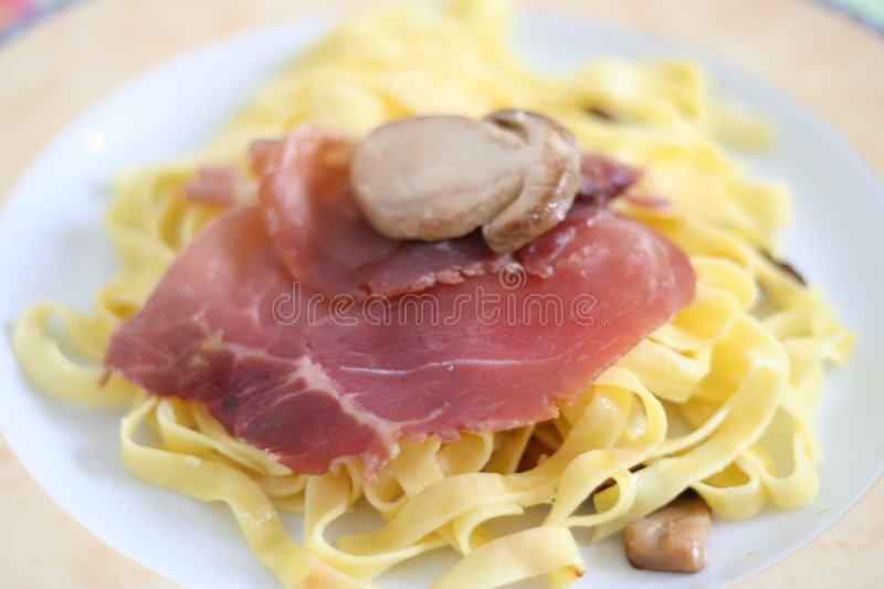 Pasta Teresa royalty free stock photography