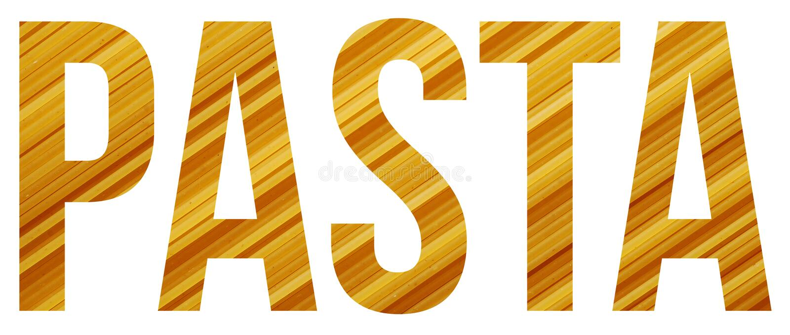 Pasta Stock Image Image Of Font Copyspace Abstract 98711399