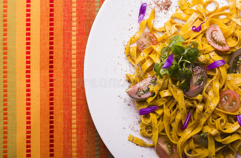 Pasta!. Pasta time, colorful and fresh for the viewing pleassure stock photography