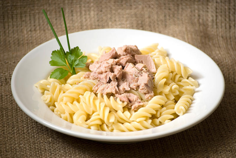 Download Pasta With Tuna Stock Images - Image: 24447324