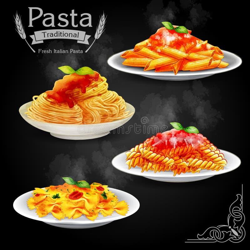 Free Pasta Vintage Stock Photography - 54934412