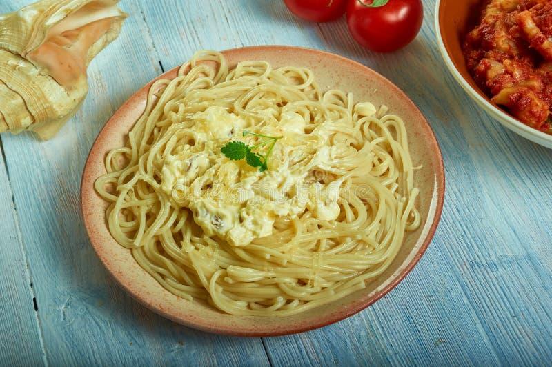 Pastas Alla Foriana fotografía de archivo