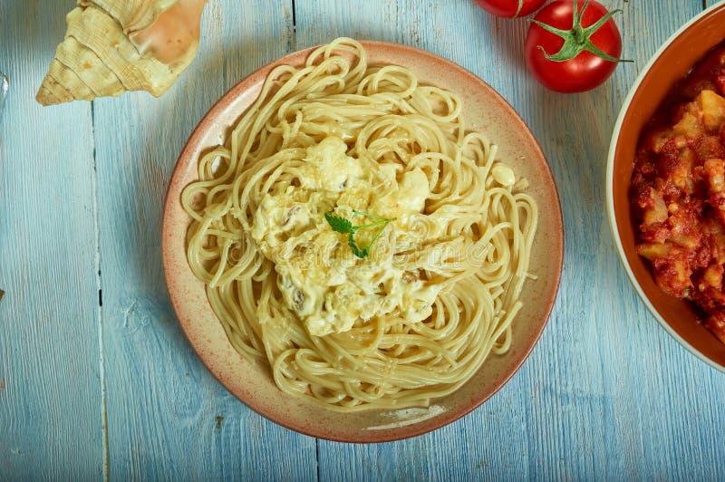 Pastas Alla Foriana fotos de archivo