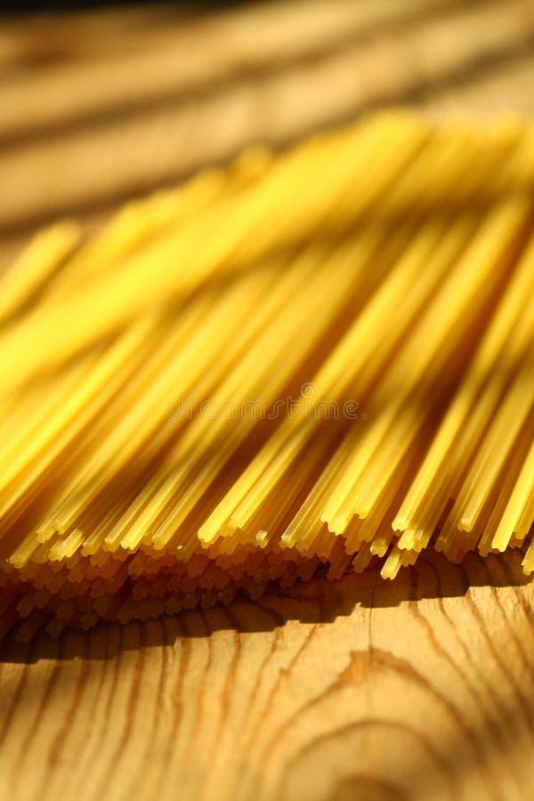 Pastas B de los espaguetis fotografía de archivo libre de regalías