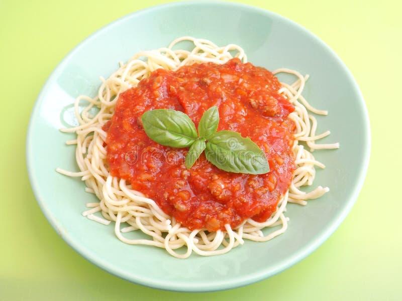 Download Pastas boloñés imagen de archivo. Imagen de tomates, frescura - 42425275