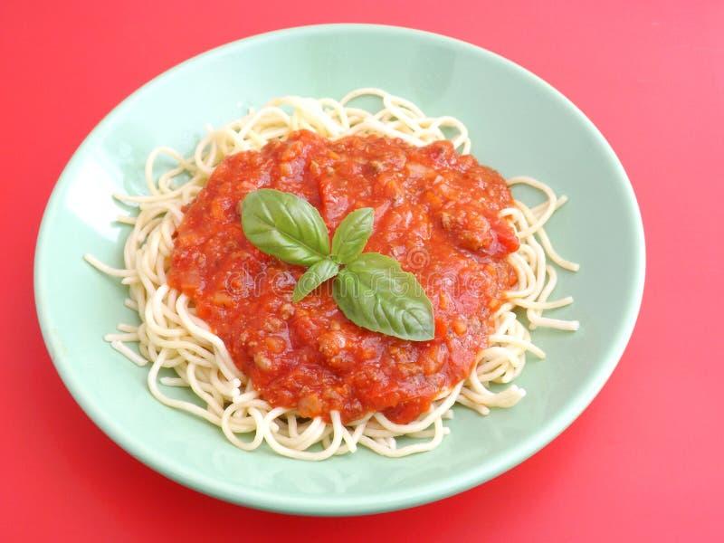 Download Pastas boloñés foto de archivo. Imagen de plato, italiano - 42425394