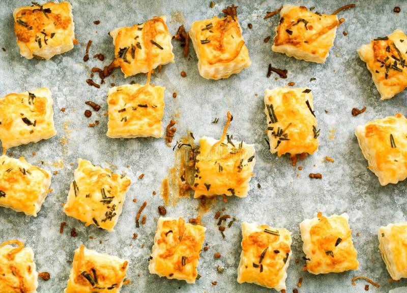 Pastas de hojaldre cocidas frescas imagen de archivo libre de regalías