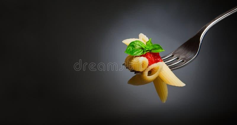 Pastas de los macarrones imágenes de archivo libres de regalías