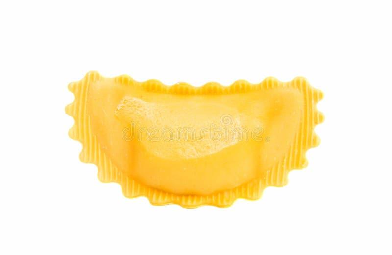 Pastas de los raviolis aisladas fotografía de archivo libre de regalías
