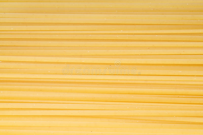 Pastas del Fettuccine fotografía de archivo