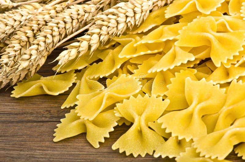 Pastas del italiano de la mariposa imagen de archivo libre de regalías
