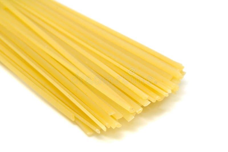 Pastas del Linguine fotos de archivo