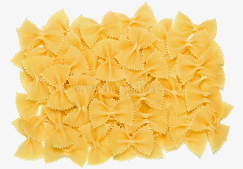 Pastas Farfalle imagen de archivo