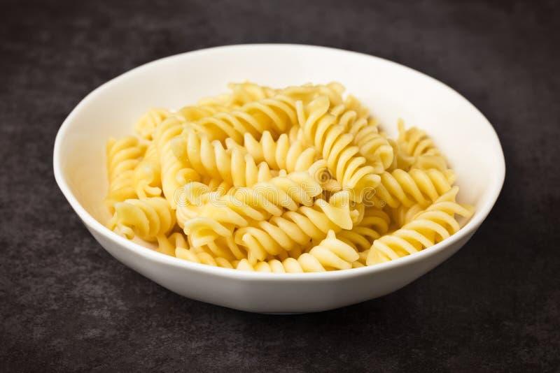 Pastas - Fusilli foto de archivo libre de regalías